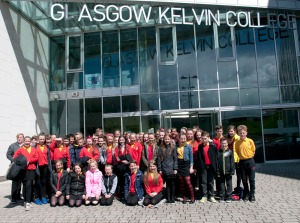 Pupils from Wallacewell Primary School