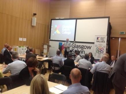 Alan Sherry at STEM Meeting
