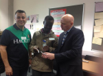 ESOL Students with Alan Sherry - 7th Oct