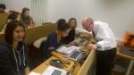 David Webster and Nadia Tahar
