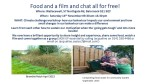 Food and a film and chat