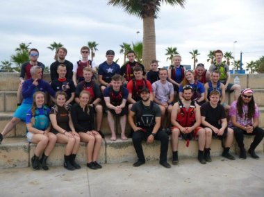 Blog - HNC outdoor education - Spain trip 4
